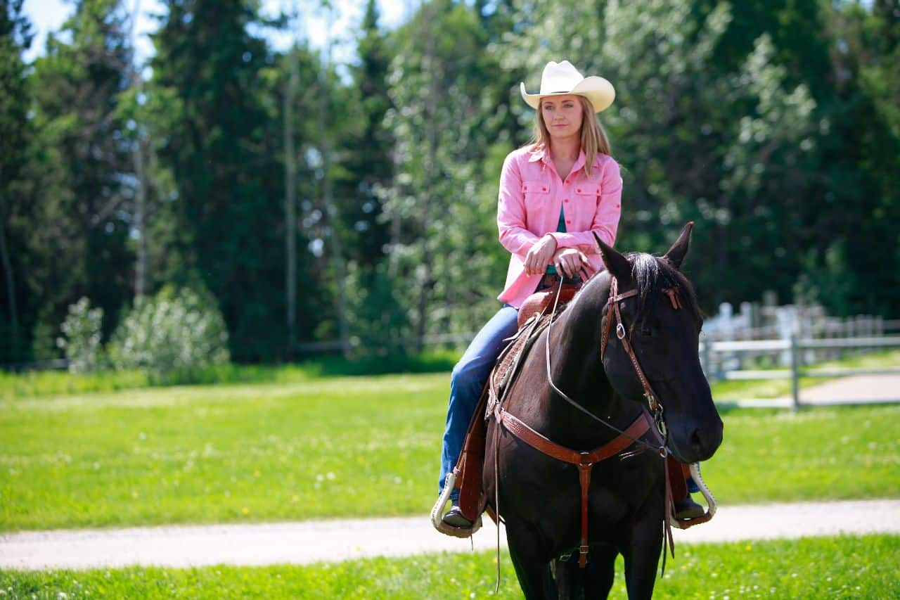 Amy! More horsing around please! - Heartland
