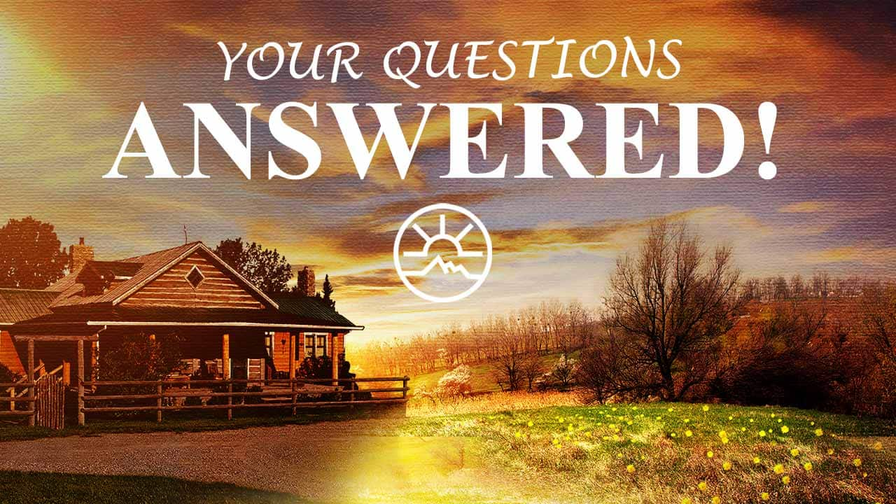 Your Questions Answered, Part 1 - Heartland