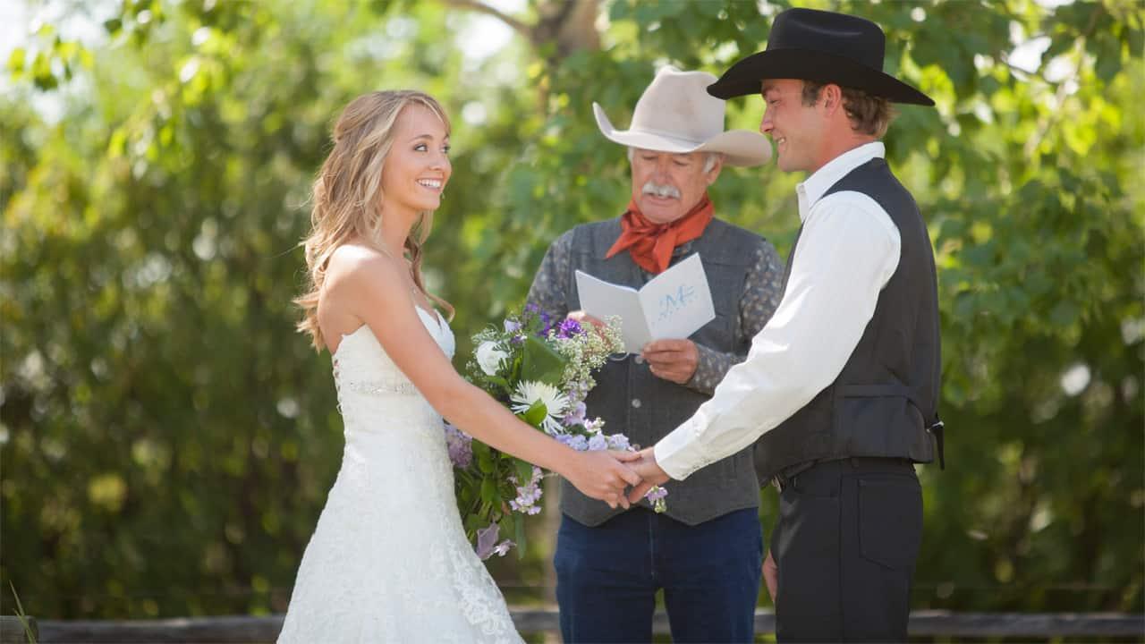 Amber Marshall Wedding.Cbc Live S Exclusive Video Of Amber Marshall S Wedding
