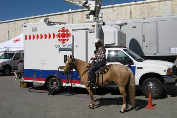 The Calgary Stampede Parade S Roaming Reporter Amber
