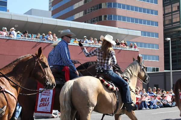 Fan Pics From The Stampede Parade Heartland