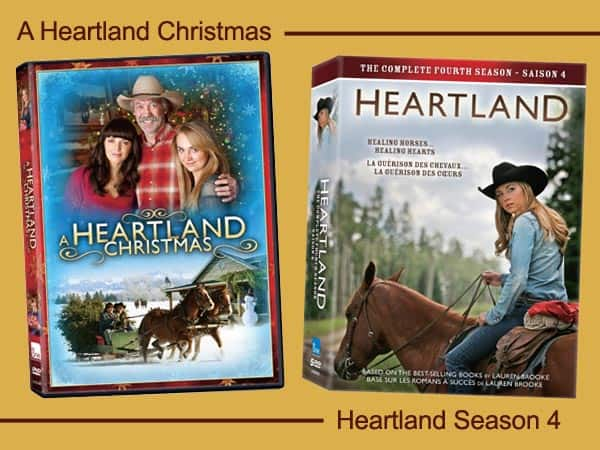 A Heartland Christmas.Heartland Season 4 And A Heartland Christmas Are Now