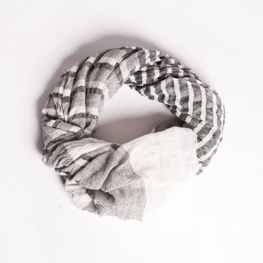 nautical striped scarf