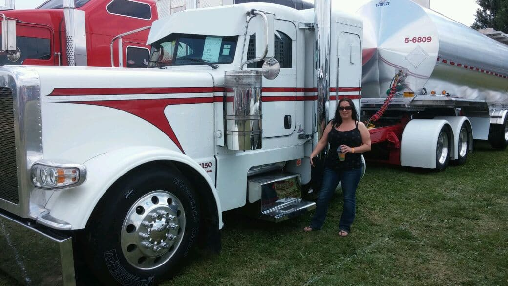 Becca at the Fergus Truck Show