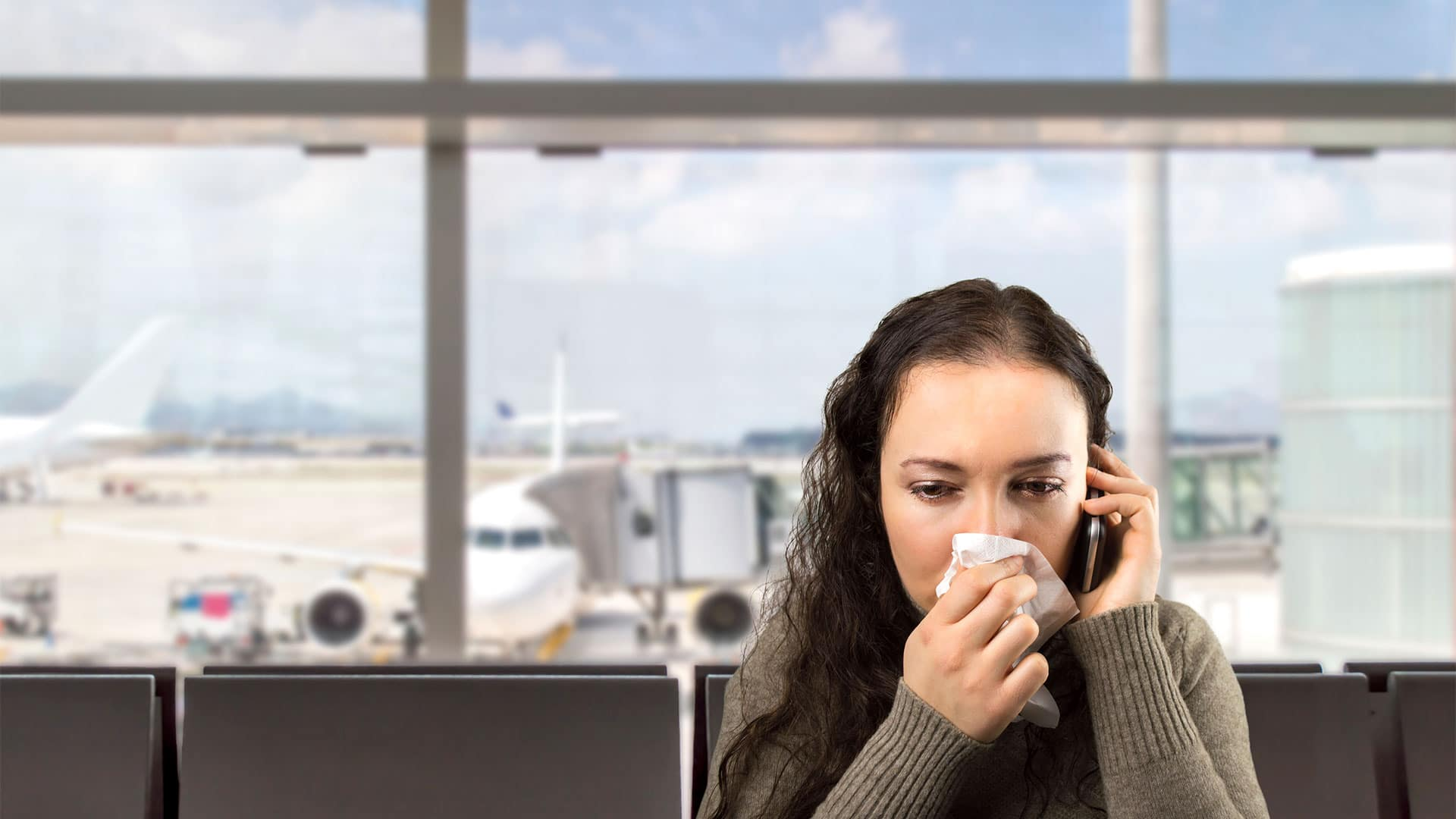 Don't catch that flu! 10 tips for staying healthy on a plane