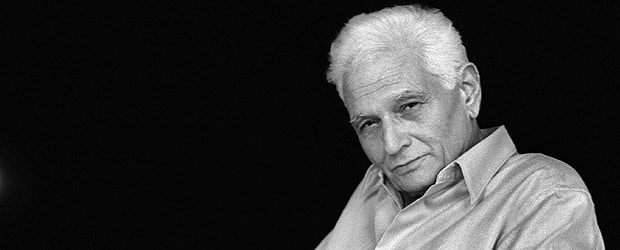 French philosopher Jacques Derrida (Photograph: JOEL ROBINE/Getty). In Part 2 of