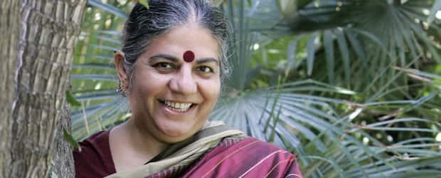 Vandana Shiva. Photo by Gustau Nacarino/REUTERS