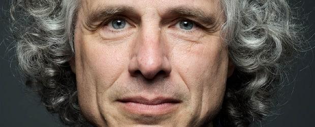 Steven Pinker. Photograph by Max Gerber.