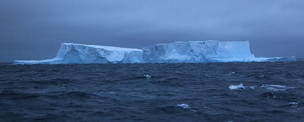 Icebergs in the Southern Ocean, near the South Orkney Islands. (Liam Quinn)