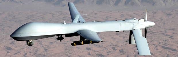 MQ-1 Predator unmanned aircraft. (U.S. Air Force photo/Lt Col Leslie Pratt)