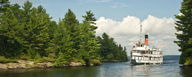 The Muskoka District in Central Ontario boasts some of the most beautiful pine forests and fresh waterways on the planet.