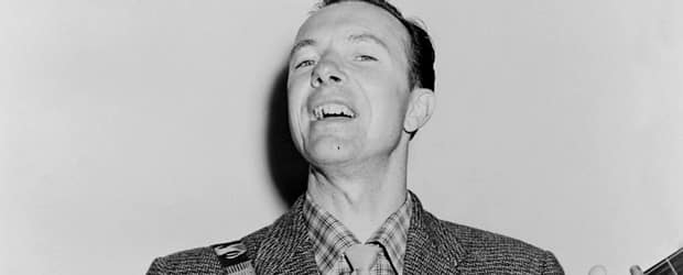 Pete Seeger in 1955. Photo credit: Fred Palumbo Library of Congress. New York World-Telegram & Sun Collection