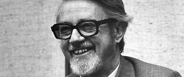 Lister Sinclair, host of IDEAS from 1983 - 1999.