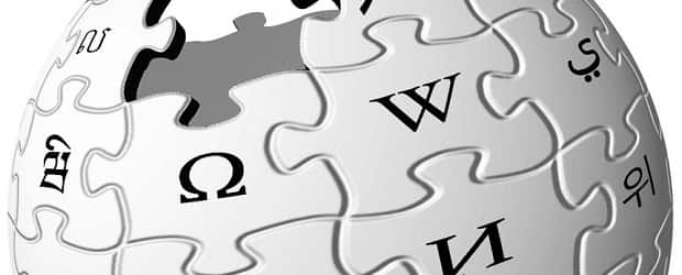Detail from the puzzle globe <a href='http://en.wikipedia.org/wiki/Logo_of_Wikipedia'>Wikipedia</a> logo.