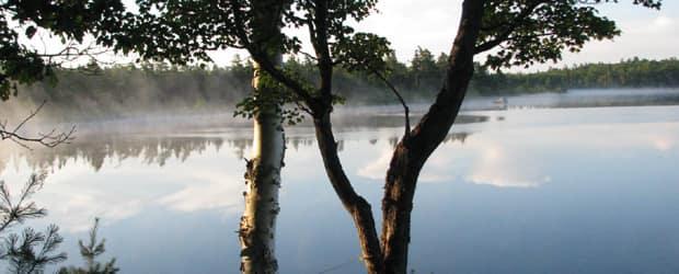 Pitts Lake, Nova Scotia.  Photograph by Dick Miller.