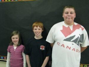 Laura McNally, Evan Jackson, Zack McKeil