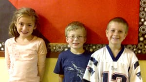 Left to Right: Lily Chiasson, Leland Blanchard, Ryan Hughes