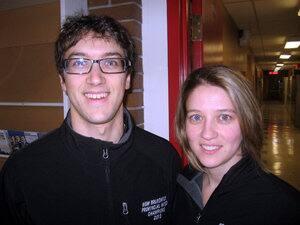 Marcel and Sylvie Robichaud
