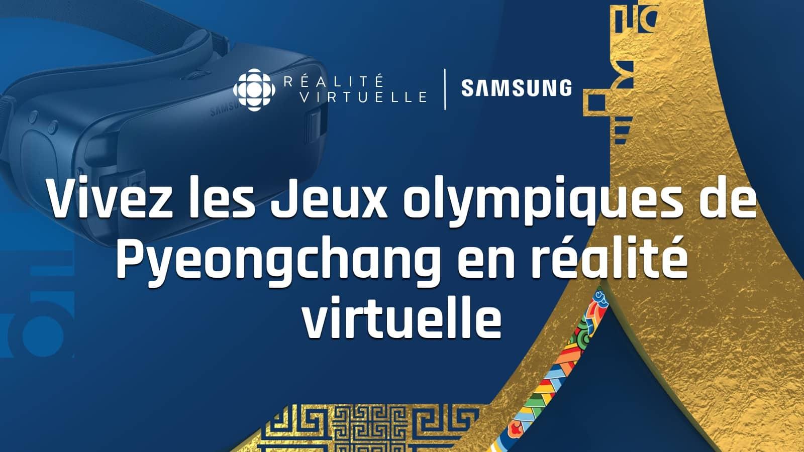 vivez les jeux olympiques de pyeongchang en r alit virtuelle. Black Bedroom Furniture Sets. Home Design Ideas