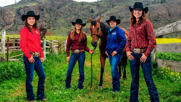 Some Of The Best Cowgirls In B C Cbc Kamloops