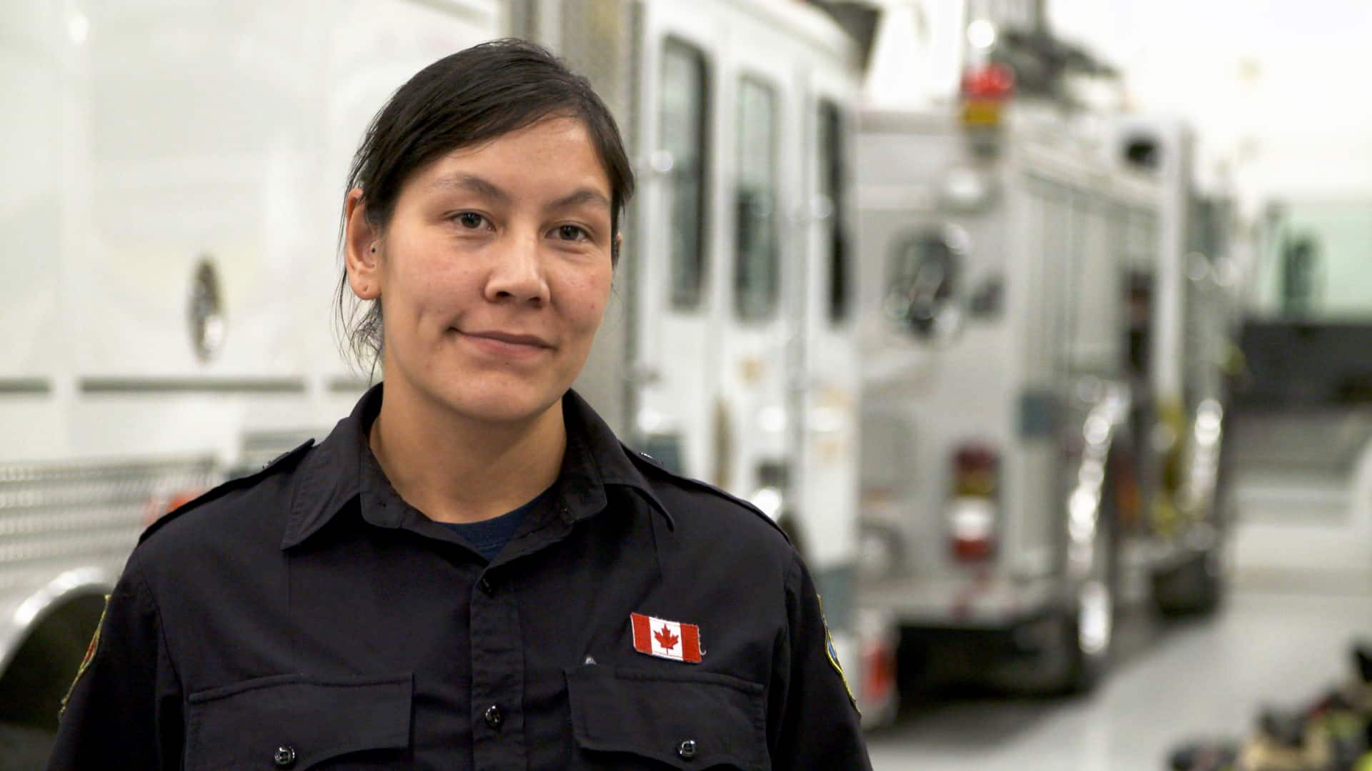 Meet Sarah Arngna'naaq: On-call firefighter and Crown prosecutor