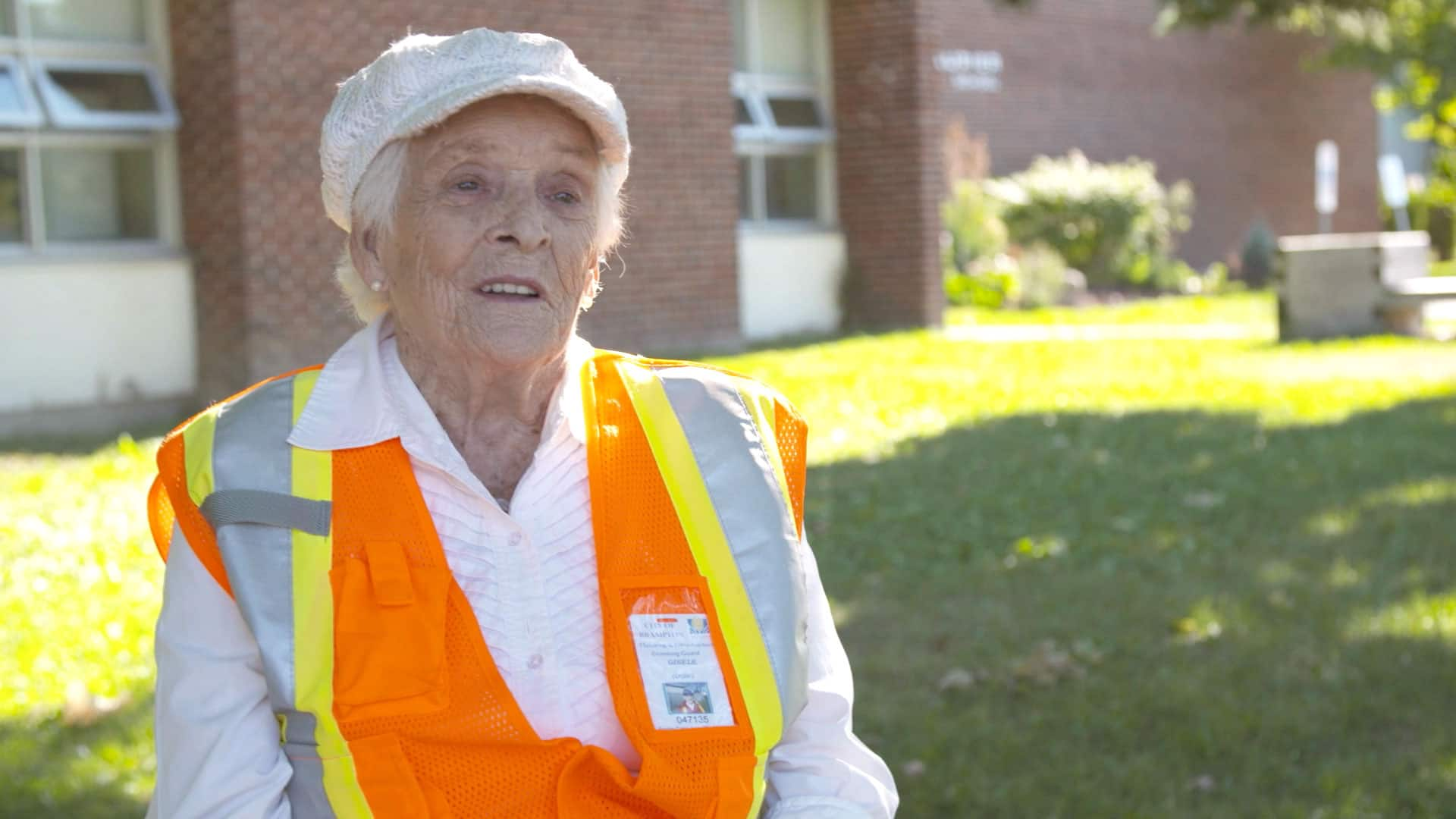 Meet a 94-year-old crossing guard
