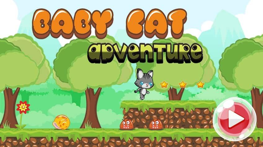 Baby Cat Adventure Play Free Online Games For Kids Cbc Kids