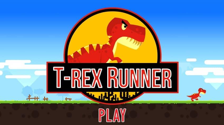 T Rex Runner Play Free Online Games For Kids Cbc Kids