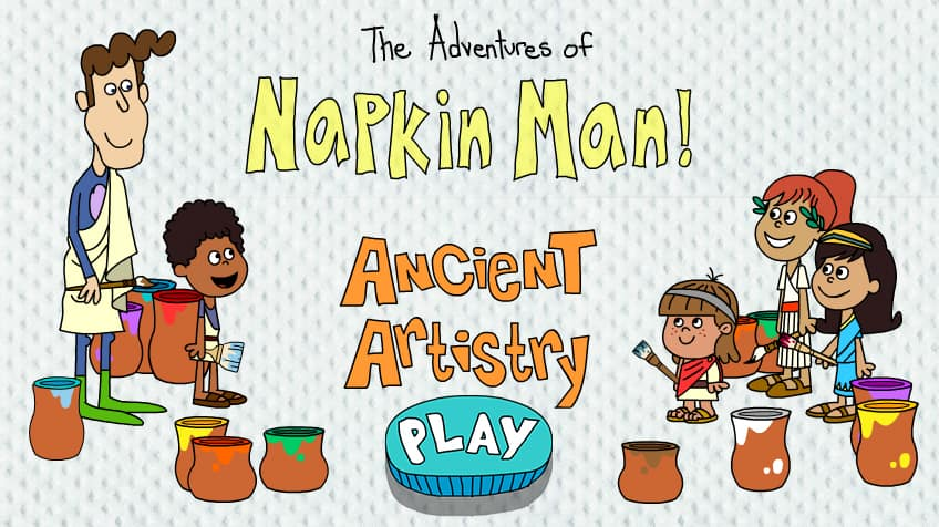 Napkin Man: Ancient Artistry