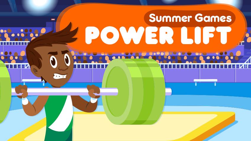 Summer Games - Power Lift