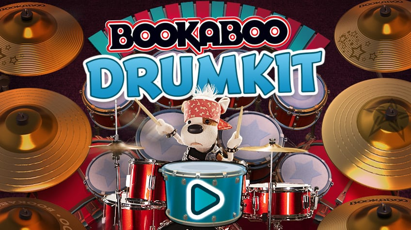 Bookaboo Drum Kit | Play Free Online Kids Games | CBC Kids