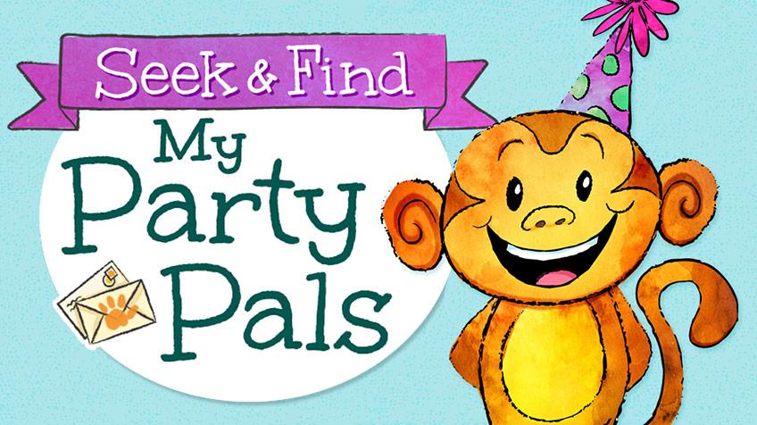 Seek & Find My Party Pals