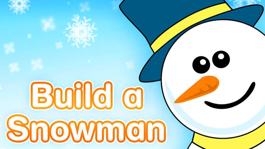 Build Your Snowman | Play Free Online Kids Games | CBC Kids