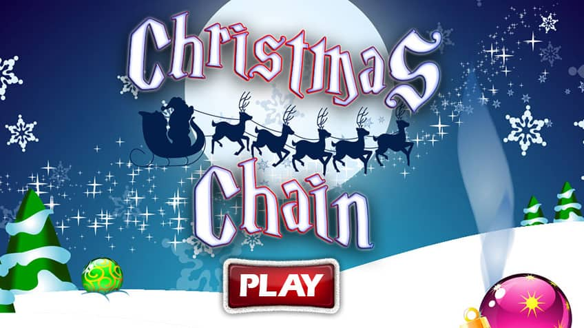 Christmas Chain Text.Christmas Chain Play Free Online Kids Games Cbc Kids