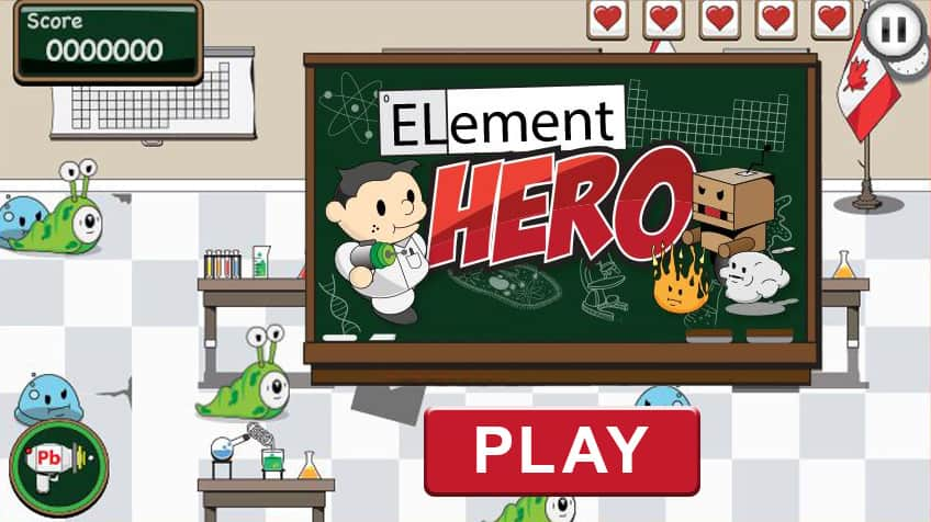 All Games Element Hero