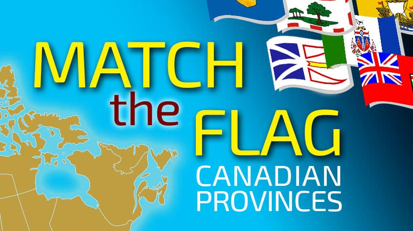 Match the Flag: Canadian Provinces