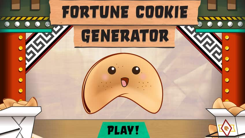 What will your fortune cookie tell you?   Play Free Online Kids