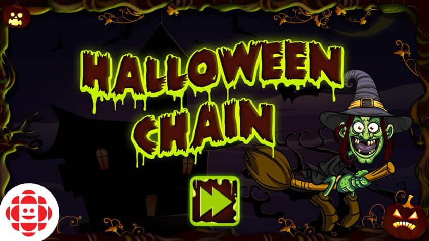 Halloween Chain | Play Free Online Kids Games | CBC Kids