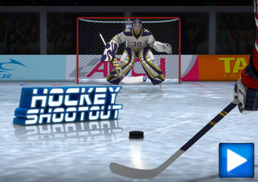 Hockey Shootout Play Free Online Kids Games Cbc Kids