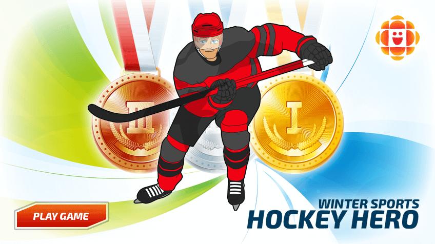 Hockey Hero Play Free Online Kids Games Cbc Kids