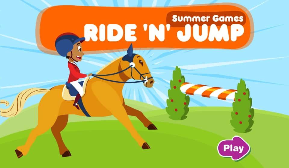 Word Puzzle Games >> Summer Games - Ride 'n Jump   Play Free Online Kids Games   Kids' CBC 2