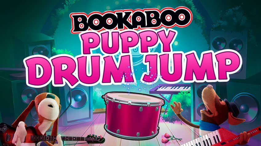 Bookaboo Puppy Drum Jump