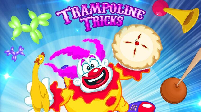 Trampoline Tricks - New Game!