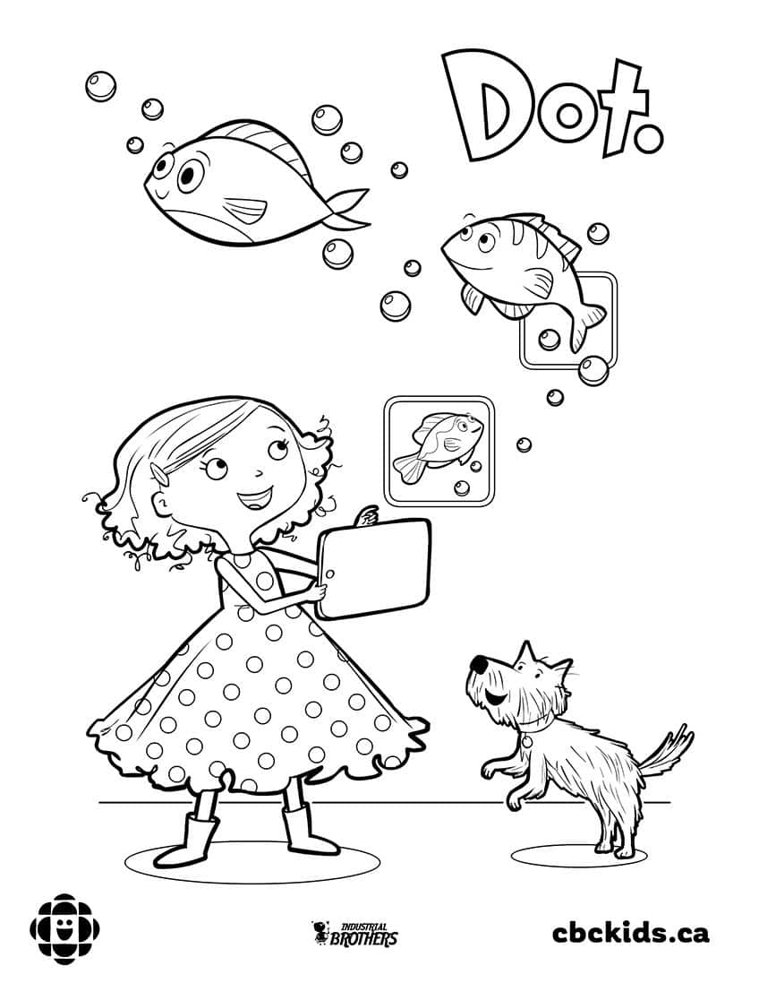 10 Colouring Pages For Book Day