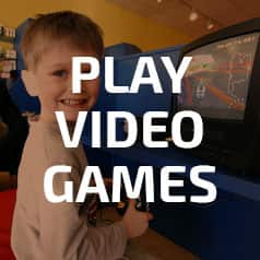 Play video games