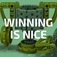 Winning is nice