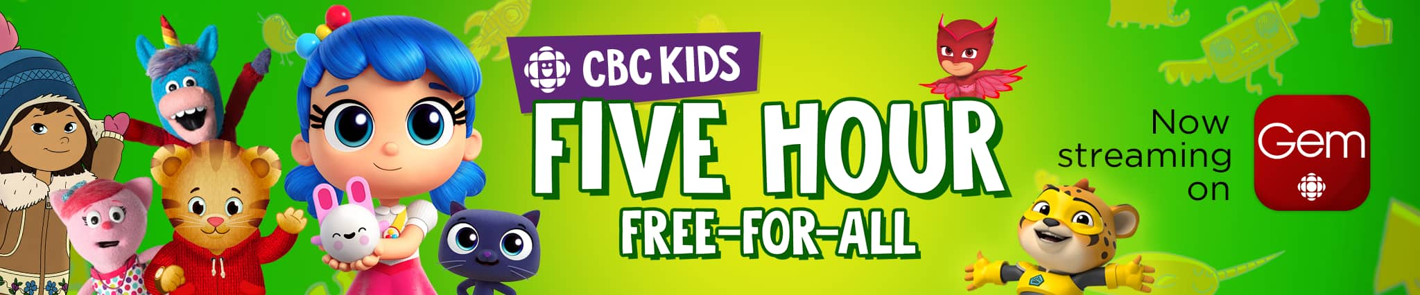 CBC Kids five hour free-for-all