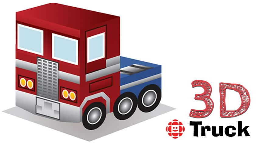 3d printable truck craft explore awesome activities fun facts