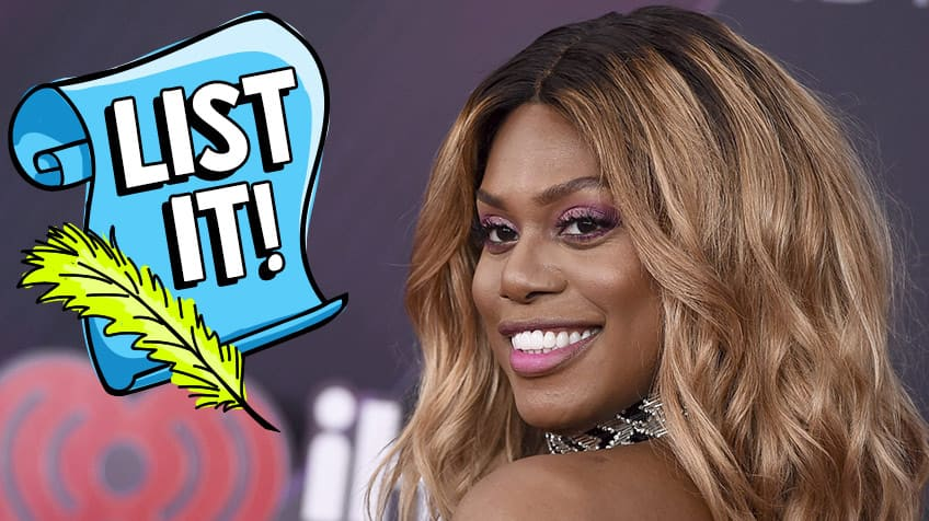 Famous LGBTQ icons that are active in the LGBTQ community