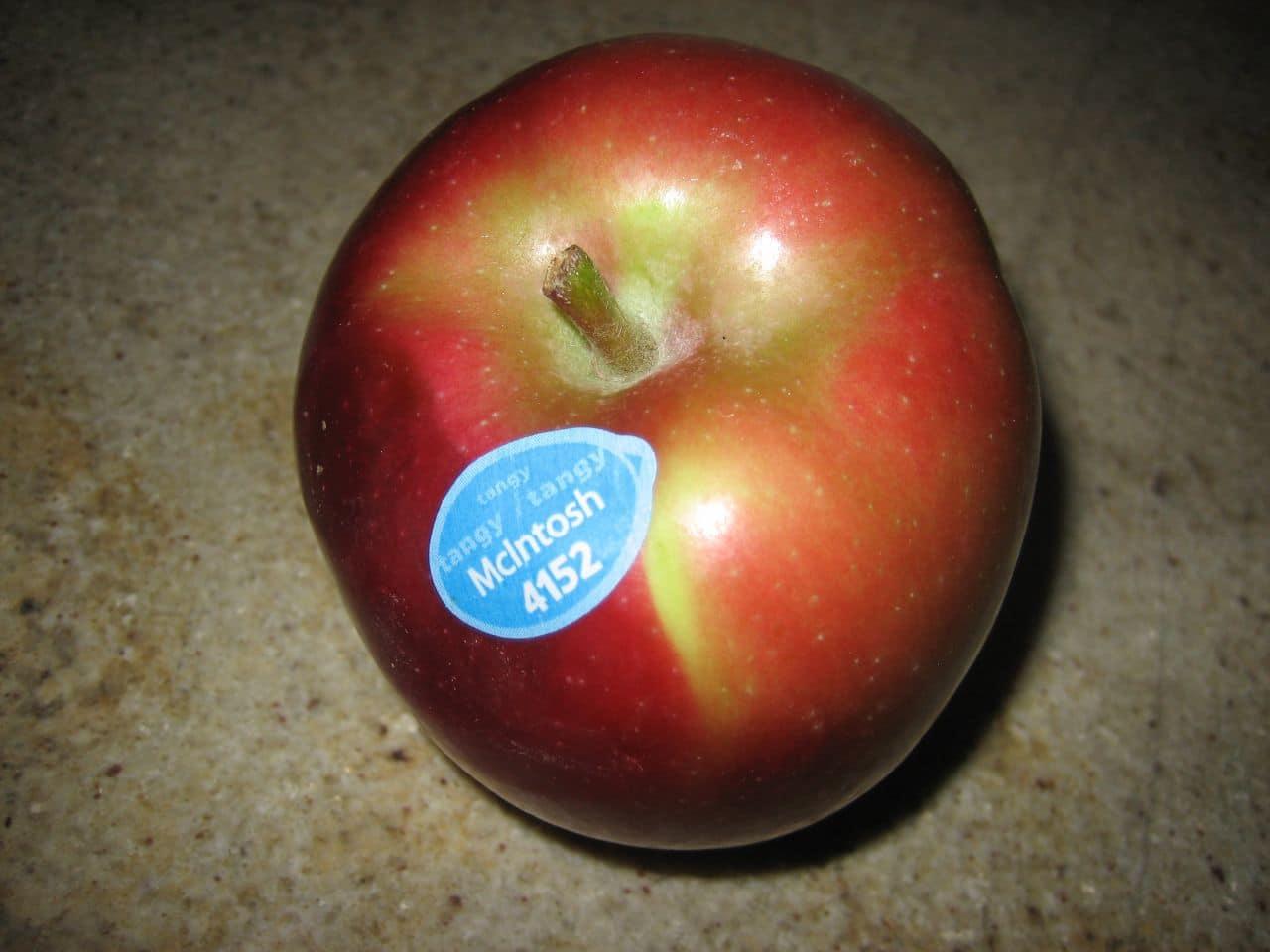 A McIntosh apple.